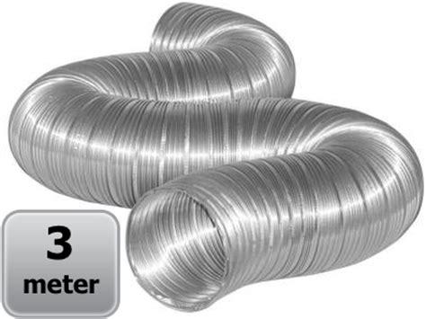 Selang Fleksibel Aluminium semi flexibele slang 125mm aluminium ventilatieshop