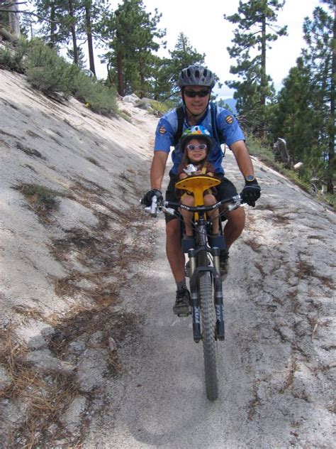 child seat for trail a bike child seat on a mountain bike mtbr