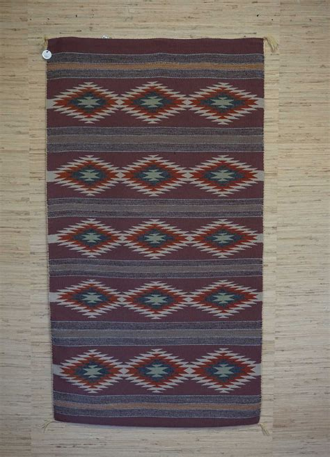 Rugs For Sale by Vegetal Dyed Banded Navajo Rug For Sale 977