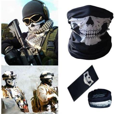 Buff Call Of Duty Masker A skull mask motorcycle elite survivor