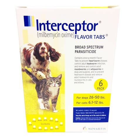 interceptor for dogs interceptor for dogs and cats interceptor flavor heartworm tabs
