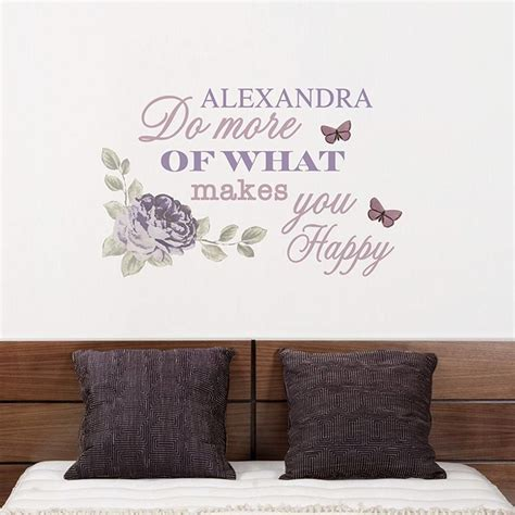 personalised secret garden wall my gifts