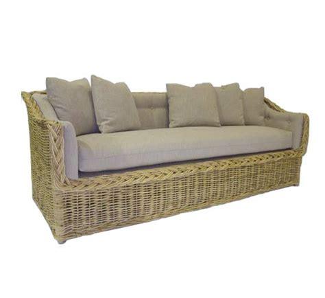 indoor wicker loveseat classic square back sofa 82 quot wicker material