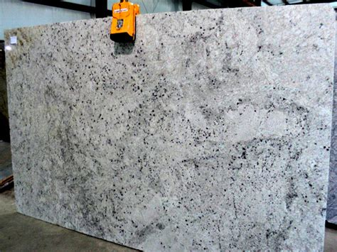 Kitchen Tops by Colonial White Granite Slab 1458