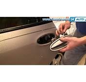 How To Install Repair Replace Broken Rear Door Handle