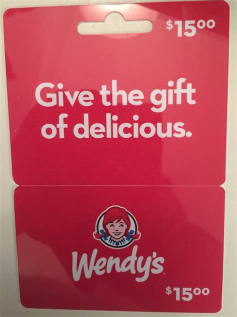 Wendy Gift Card - giveaway 15 wendy s gift card gay nyc dad