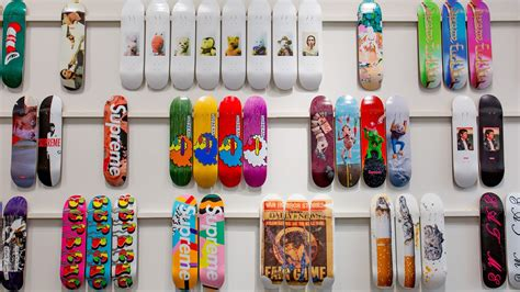 supreme skate shop the drop in history a complete collection of