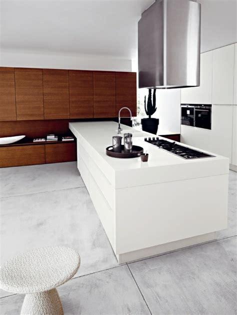 cuisine minimaliste design cuisine minimaliste de couleur blanche 25 id 233 es pour vous