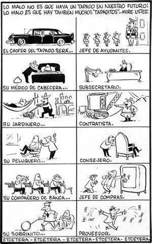 La historia de la historia de la caricatura