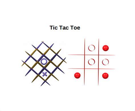 20 Tic Tac Toe Sles Sle Templates Free Tic Tac Toe Template