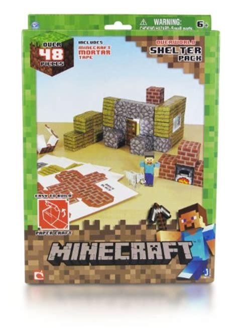Minecraft Papercraft Shelter Set - minecraft papercraft shelter set