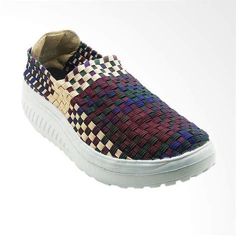 Sepatu Adidas Rajut jual lulia vs61 sepatu rajut wanita maroon harga kualitas terjamin blibli