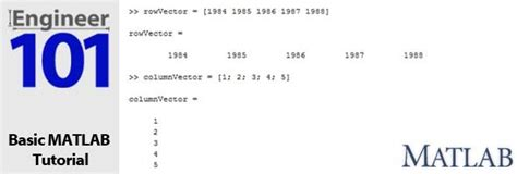 tutorial vector and scalar matlab tutorial