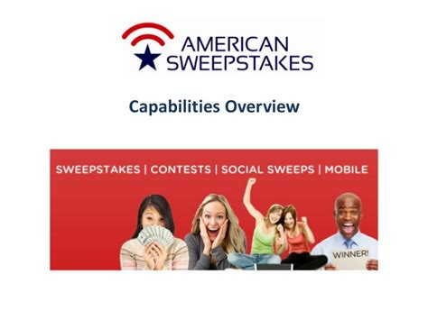 American Sweepstakes - american sweepstakes and promotions company capabilities and best pra