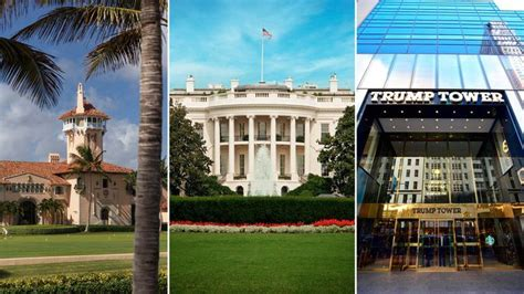 donald trumps home donald trump s home vs the white house which place is