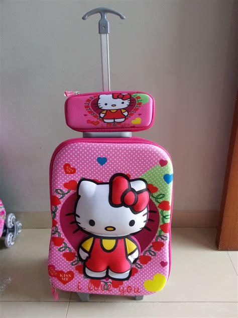 Tas Sekolah Anaktas Anaktas Frozen Hello Princess tas trolley 3d anak sekolah katalog 5 grosirimpor
