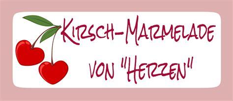 Etiketten Kirsch Marmelade by Pamelopee Free Printables Etiketten F 252 R Marmelade Selbst