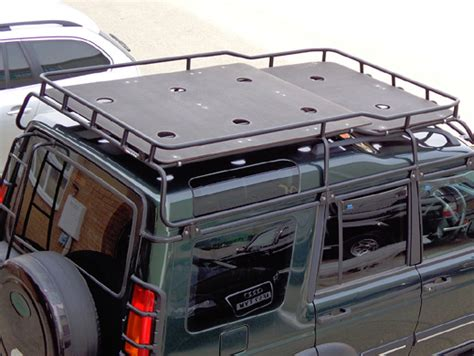 Discovery 2 Roof Rack by Safety Devices Discovery 2 Highlander Roof Rack Marine Ply