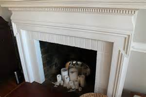 diy chalkboard magentic fireplace cover sassy