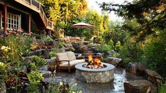 Outdoor Patio Firepit Pit Design Ideas Outdoor Spaces Patio Ideas Decks Gardens Hgtv