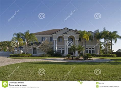 mansion houses fancy house stock image image of home yard residence 3694637