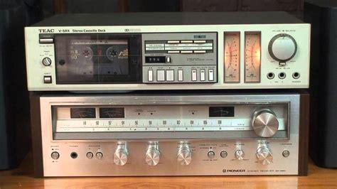 teac cassette deck teac v 5rx cassette deck