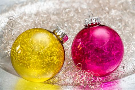 durchsichtige weihnachtskugeln weihnachtsbaum deko - Durchsichtige Weihnachtskugeln