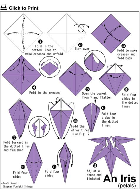 langkah membuat origami bunga lily it s winda fanisca seni melipat kertas origami
