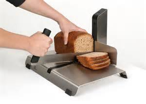Amish Kitchen Furniture hotelslicer cuts the perfect slice of bread with one motion