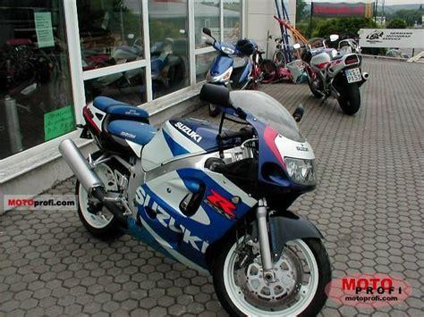2000 Suzuki Gsxr 600 Suzuki Gsx R 600 2000 Specs And Photos