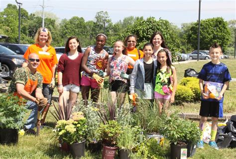 community outreach from home depot transforms butterfly