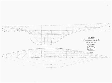 R Drawing Lines by Specs And Drawings Boatbuilding Heritage Society Of B C