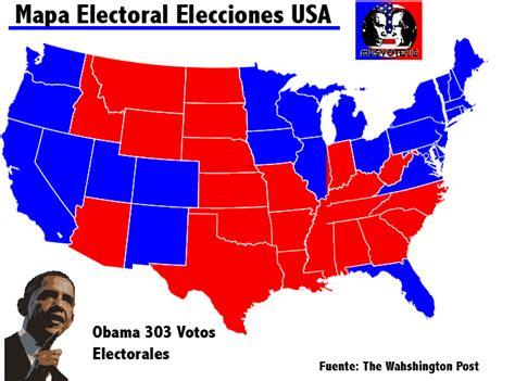 elecciones usa 2012 mapa post el mapa electoral general fotograf 237 a