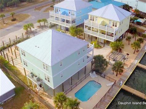 dauphin island rentals with boat dock dauphin island vacation rentals with docks or boat slips