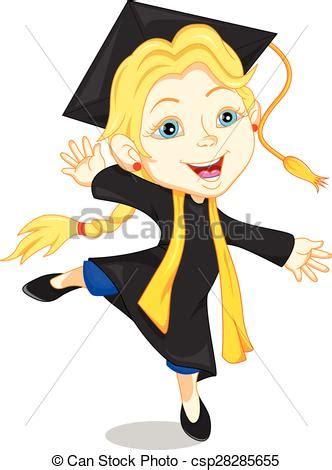 clipart laurea felice laureato ragazzo vettore felice illustrazione