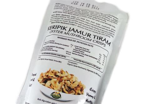 Keripik Kripik Jamur Tiram Aneka Rasa Original Balado Pedas Keju Enak review bionic farm keripik jamur tiram yukcoba in