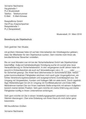 Bewerbung Bei Der Polizei In Rheinland Pfalz Muster Gt Bewerbung Als Objektschutz