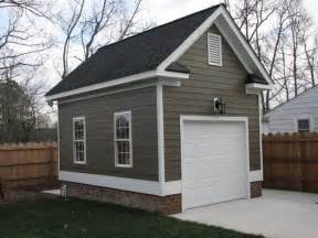 small homes with 2 car garage on foundation one car detached garage detached single car garage with hardi plank siding new enclosed