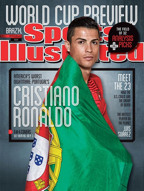 7 Best Sports Magazines by Si World Cup Preview Issue Cover Portugal S Cristiano