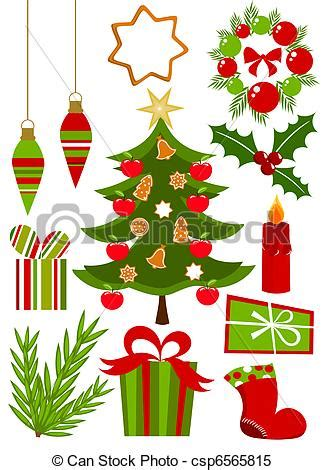 Charming Christmas Presents Clipart #4: Can-stock-photo_csp6565815.jpg