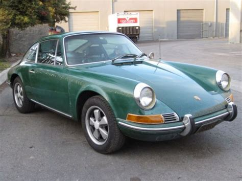 Porsche 912 For Sale Ireland Black Plate 1969 Porsche 912 Survivors