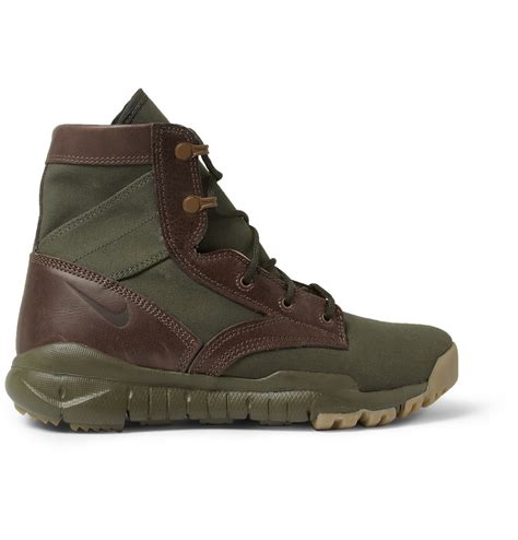 Canvas High Top Sneakers lyst nike special field leather and canvas high top