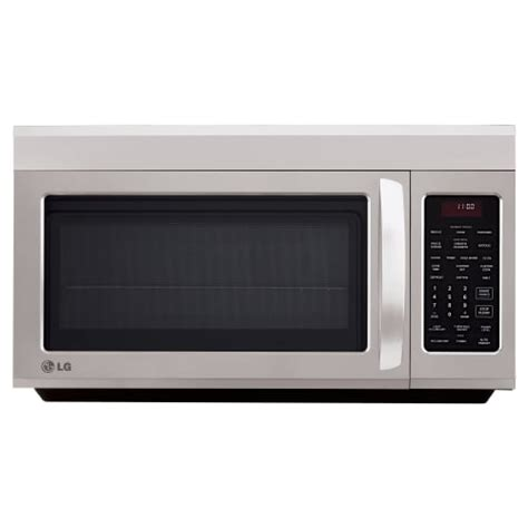 lg cabinet microwave lg lmv1813st 1 8 cubic the range microwave with quietpower ebay