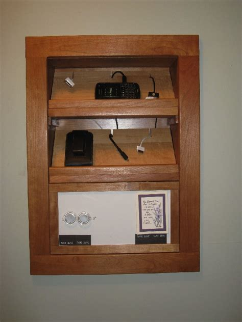 charging station plans built in charging station finewoodworking