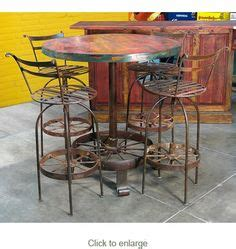 Wagon Wheel Bar Stools by Wagon Wheel Table On Wagon Wheel Chandelier