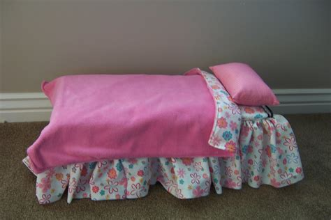 Gingham World Making An American Girl S Doll Bed Doll Bed For American