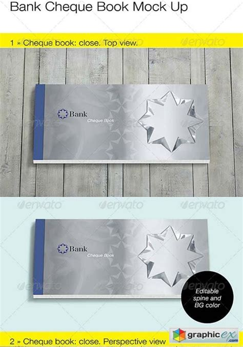 bank cheque check book mock up 187 free download vector