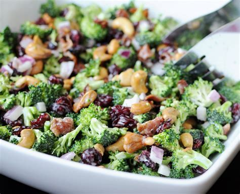 cold salad cold broccoli salad fairview foodiefairview foodie