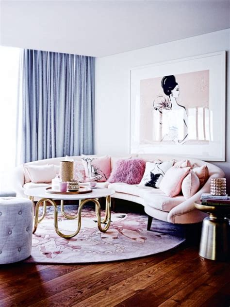 Wealthy Blue And Pink Interior 8 Pink And Blue Interiors That Will Make You Swoon Daily