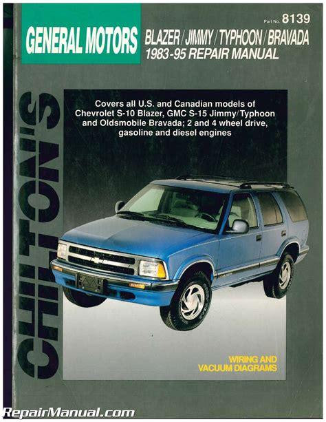 chevrolet s10 repair manual service manual pdf chevy s10 repair manual